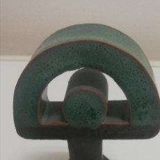 Antigüedades: FIGURA INDALO BARRO ARCILLA. Lote 244768925