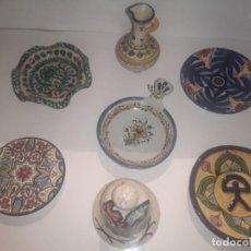 Antigüedades: LOTE CERÁMICA TALAVERA Y OTRAS. Lote 244771655