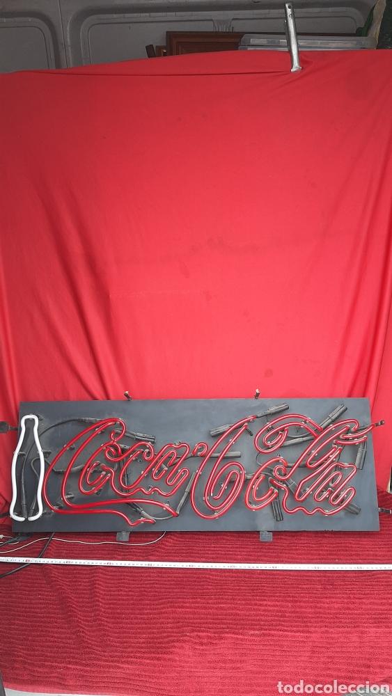 Antigüedades: Antiguo carteles luminoso coca cola - Foto 2 - 244789080