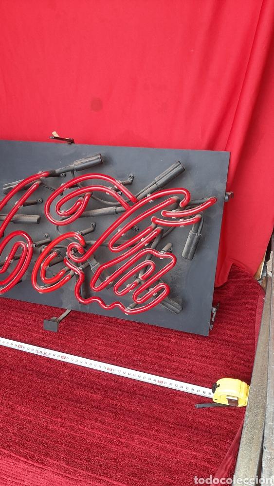 Antigüedades: Antiguo carteles luminoso coca cola - Foto 3 - 244789080