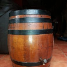 Antigüedades: BARRIL DE ROBLE.. Lote 244801300