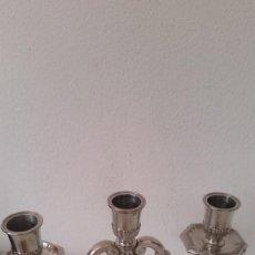 Antigüedades: PRECIOSO Y ANTIGUIO CANDELABRO SELADO,PEKA ANOS 20,30. Lote 244806745