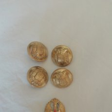 Antigüedades: BOTONES TRAJE MILITAR FRANCO. Lote 244837435