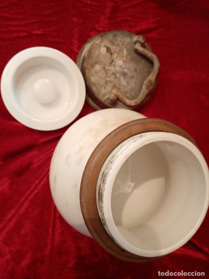 Antigüedades: tarro de farmacia - Foto 5 - 244841830