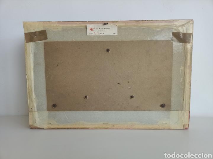 Antigüedades: Raro cuadro con plato y pomos de porcelana. Fragonard. - Foto 5 - 244853650