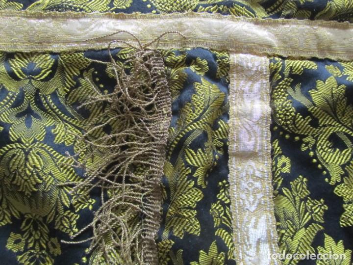 Antigüedades: Antigua capa religiosa capa pluvial - Foto 5 - 244859580
