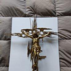 Antigüedades: CRISTO EN BRONCE DALÍ. Lote 244865920