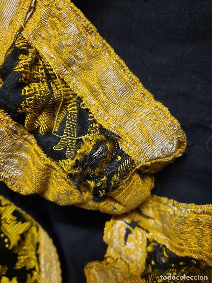 Antigüedades: Antigua capa religiosa capa pluvial - Foto 14 - 244859580