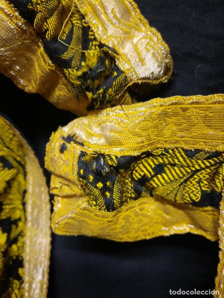 Antigüedades: Antigua capa religiosa capa pluvial - Foto 15 - 244859580