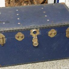 Antigüedades: ANTIGUO BAUL INGLES. Lote 244906280