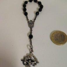 Antigüedades: ROSARIO ANTIGUO DE 10 CUENTAS. Lote 244932905