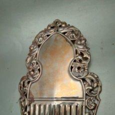 Antigüedades: PRECIOSA PEINETA VALENCIANA DORADA. Lote 244936110