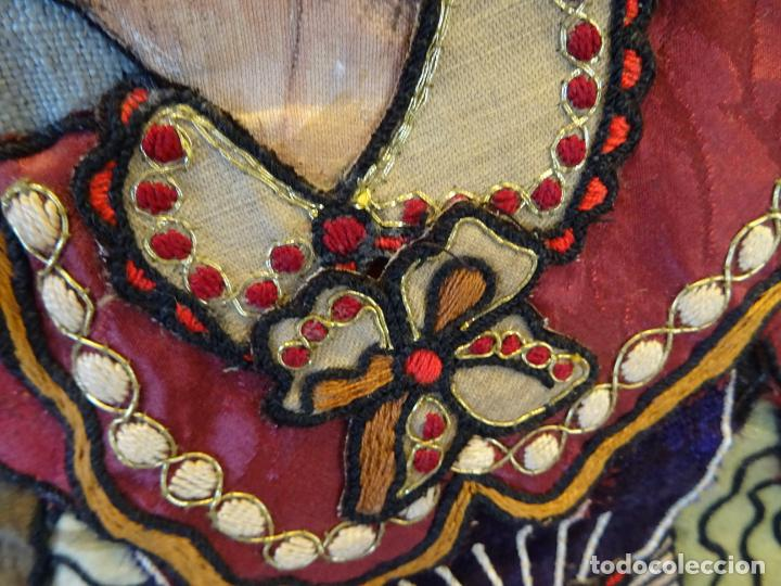 Antigüedades: Precioso tapíz escena de caza - Foto 5 - 244984245