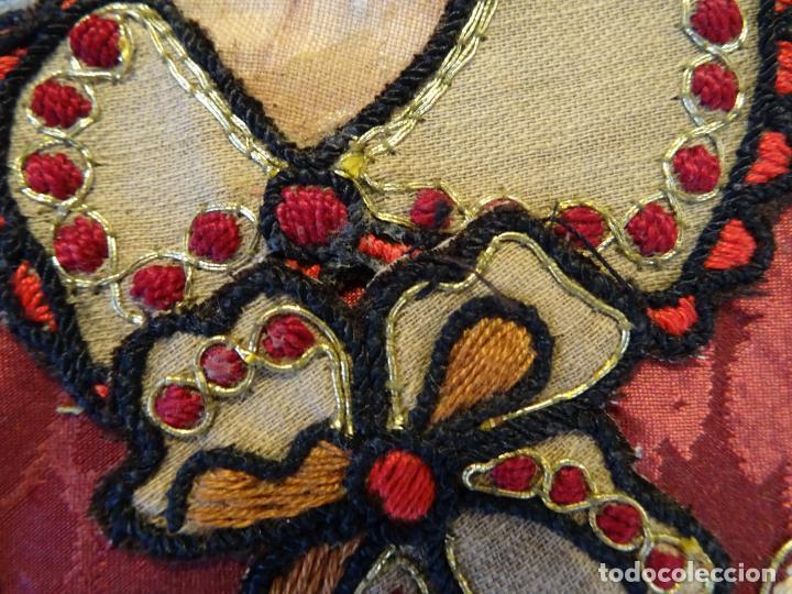Antigüedades: Precioso tapíz escena de caza - Foto 7 - 244984245
