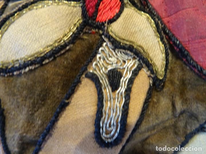 Antigüedades: Precioso tapíz escena de caza - Foto 8 - 244984245