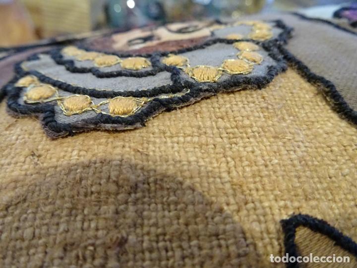 Antigüedades: Precioso tapíz escena de caza - Foto 11 - 244984245