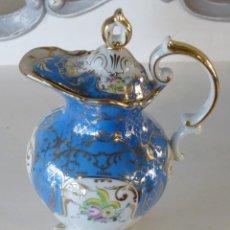 Antigüedades: CAFETERA DE SANTA CLARA VIGO. Lote 244988315