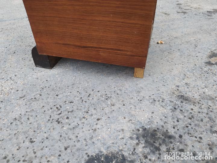 Antigüedades: Mueble estanteria art decó - Foto 2 - 245004755