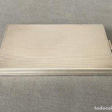Antigüedades: PITILLERA DE PLATA DE LEY CONTRASTADA 925 STERLING , P. HERTZ , DANISH. Lote 245016175