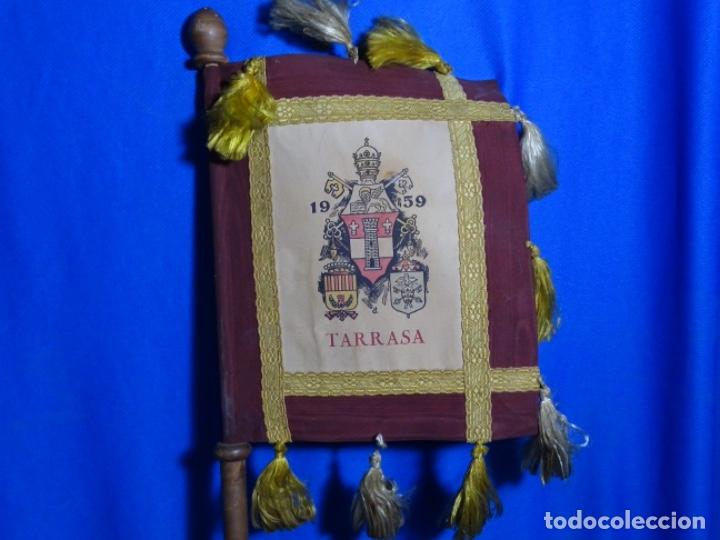 Antigüedades: BANDERÍN PENDON DE TERRASSA. SANTA JOAQUINA DE VEDRUNA. - Foto 2 - 245017500