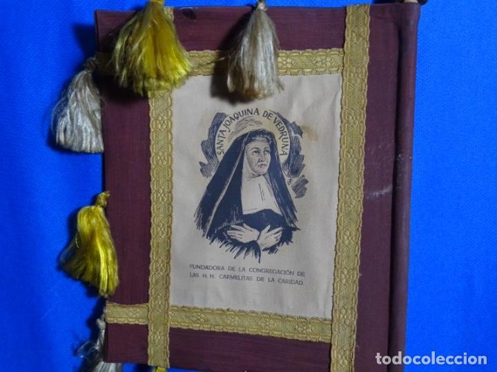 Antigüedades: BANDERÍN PENDON DE TERRASSA. SANTA JOAQUINA DE VEDRUNA. - Foto 5 - 245017500