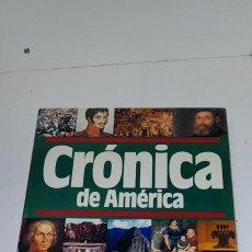 Antigüedades: CRONICA DE AMERICA. QUINTO CENTENARIO. PLAZA & JANES. 1990.. Lote 245030405