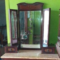 Antigüedades: TOCADOR MODERNISTA MARCA THONET. Lote 245047590
