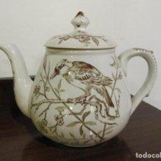 Antigüedades: CAFETERA O TETERA DE LA CARTUJA - SERIE PAJARITOS. Lote 245095285