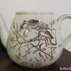 Antigüedades: CAFETERA O TETERA DE LA CARTUJA - SERIE PAJARITOS. Lote 245095795