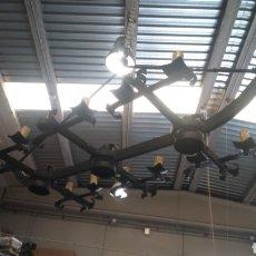 Antigüedades: GRAN LAMPARA DE DRAGONES. Lote 245104875
