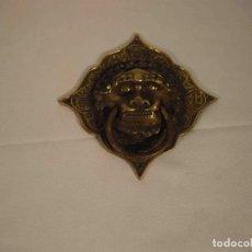 Antigüedades: ALDABA FORMA ROMBO. Lote 245145825