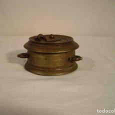 Antigüedades: TINTERO METAL MODELO A. Lote 245146240