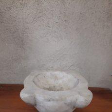 Antigüedades: MORTERO DE MÁRMOL. Lote 245156420