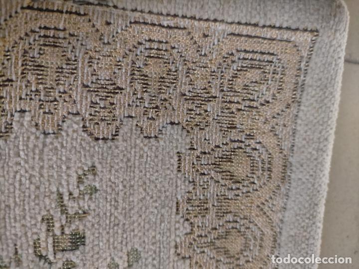 Antigüedades: ALFOMBRA ALFOMBRILLA FLORAL TIPO TAPIZ . 120 X 70 CM - Foto 11 - 245170250