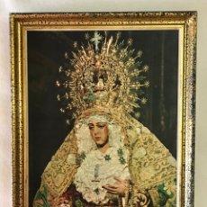 Antigüedades: SEMANA SANTA SEVILLA. ANTIGUO CUADRO VIRGEN ESPERANZA MACARENA. Lote 245206565