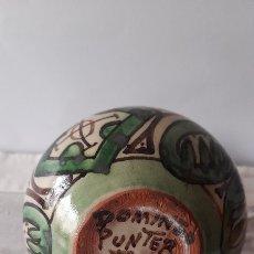 Antigüedades: ANTIGUO BOTIJO TERUEL (DOMINEO PUNTER). Lote 245217845