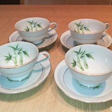 Antigüedades: JUEGO DE TÉ / CAFÉ - PORCELANA RC JAPAN. Lote 245220560