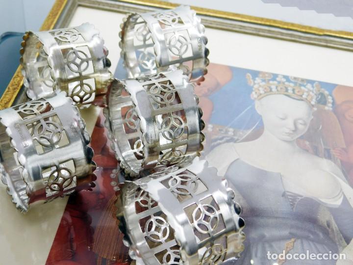 Antigüedades: C1890 - JUEGO DE ANTIGUOS UTENSILIOS / SOPORTES LITÚRGICOS VICTORIANOS - PUNZONES - ENGLAND EPNS - Foto 7 - 245228050
