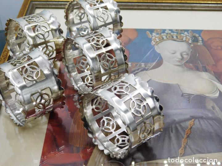 Antigüedades: C1890 - JUEGO DE ANTIGUOS UTENSILIOS / SOPORTES LITÚRGICOS VICTORIANOS - PUNZONES - ENGLAND EPNS - Foto 4 - 245228050