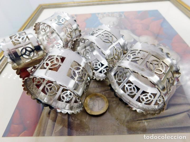 Antigüedades: C1890 - JUEGO DE ANTIGUOS UTENSILIOS / SOPORTES LITÚRGICOS VICTORIANOS - PUNZONES - ENGLAND EPNS - Foto 13 - 245228050