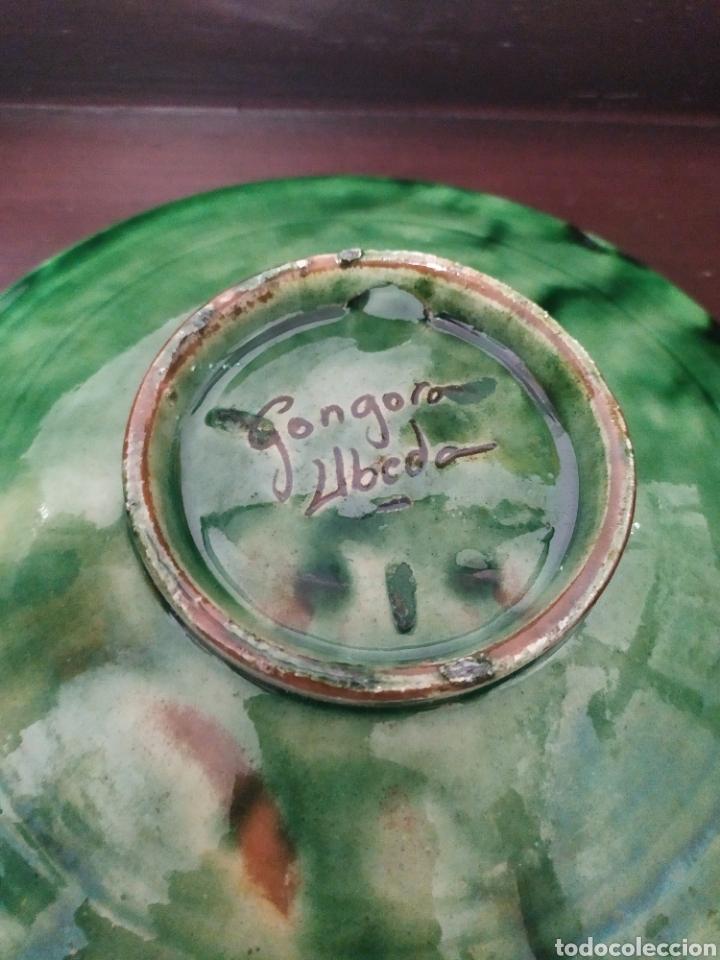 Antigüedades: Plato cerámica Úbeda Góngora Jaén antiguo - Foto 2 - 245248170