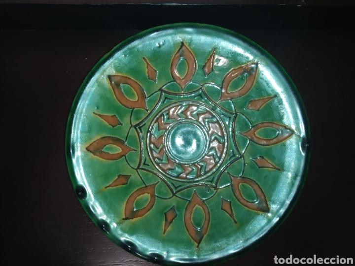 Antigüedades: Plato cerámica Úbeda Góngora Jaén antiguo - Foto 3 - 245248170