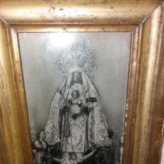 Antigüedades: ANTIGUO MARCO VIRGEN DE LA MERCED. Lote 245255330