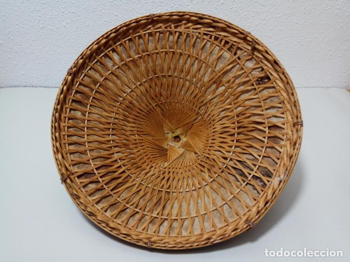 Antigüedades: SOMBRERO VIETNAMITA EN FIBRA VEGETAL - Foto 2 - 245279710