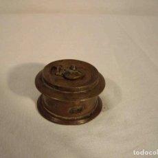 Antigüedades: TINTERO METAL MODELO D. Lote 245344525