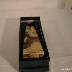 Antigüedades: OBELISCO ONIX MARRON. Lote 245345290
