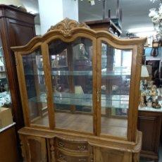 Antigüedades: VITRINA CASTAÑO. Lote 245357190