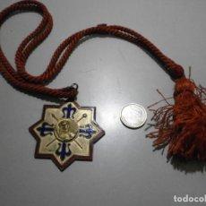 Antigüedades: MEDALLA SEMANA SANTA COFRADIA DE LAS SIETE PALABRAS VALLADOLID. Lote 245364940