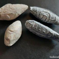 Antigüedades: TIRACHINAS ROMANO - GRAN SELECCION DE BALAS DE HONDA. Lote 245368590