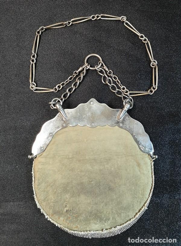 Antigüedades: Bolso Plateado - Foto 4 - 245373190